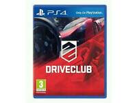 PS4 SEALED GAME DRIVECLUB
