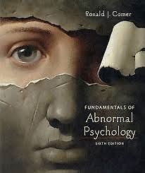 abnormal psychology & case studies in abnormal psychology comer 7th Abnormal psychology comer 7th edition abnormal psychology comer 7th edition  abnormal psychology speedy study guides abnormal child and adolescent  context case.