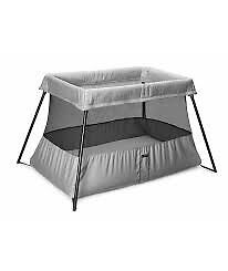 BabyBjorn Travel Cot Light - Silver and Black Hunters Hill Hunters Hill Area Preview