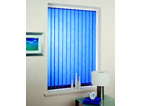 Vertical window blinds - measure and fitting available