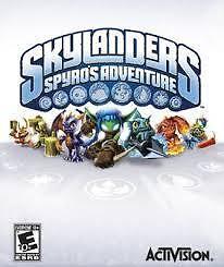 PS3 Skylanders Spyro's Adventure + 4 Adventure sets & Skylanders