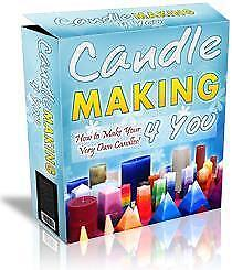 CANDLE MAKING - For FUN or PROFITS ! - Makes excellent Chrismas gifts!