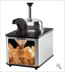 Cheese Server Supreme 81140-chse W Pump Spout Warmer