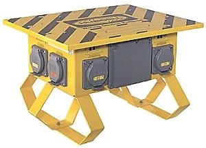 Location power box hubell spyder portable