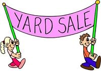 Yard Sale -Tailgate Event TODAY!