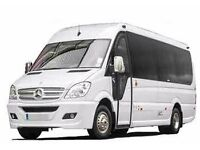 Minibus company Watford. 8,12,16 seater minibus with driver. Save 30% today with Relax minibus hire.