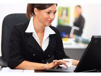 IMMEDIATE START - Office & Warehouse Job - Data entry Admin PA Secretary Clerk Sales Assistant Work