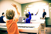 October Special - 4 Free Group Piano Lessons!