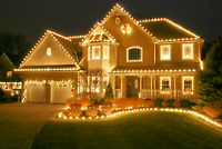 We Hang Christmas Lights!  Professional Installation Service