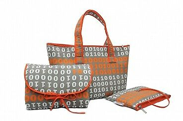 Numero Uno Wickeltasche Set - Shopper Bag