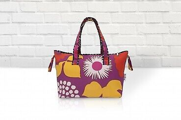 Belily-World Milano Shopper Bag - Wickeltasche Set