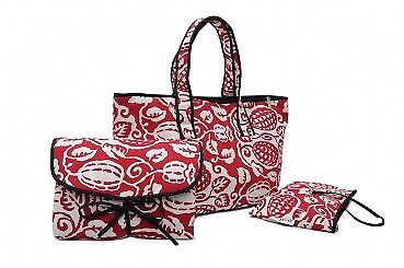 Kakaobohne Wickeltasche Set - Shopper Bag