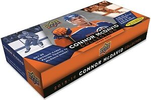 2015-16 Upper Deck Connor McDavid Collection Trading Cards Box Kitchener / Waterloo Kitchener Area image 1