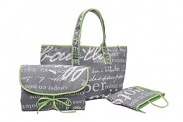 Paris Wickeltasche Set - Shopper Bag
