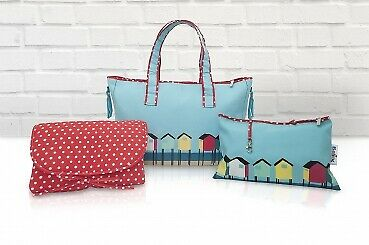 Belily-World Florida Shopper Bag - Wickeltasche Set