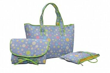 Spots 'n' Dots Wickeltasche Set - Shopper Bag