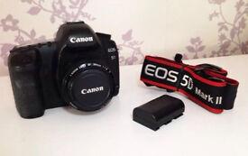 Canon 5D Mark II with Lens