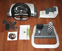 Xbox 360 wireless steering wheel