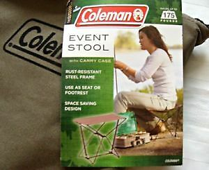 2 Coleman Event Stools, Brand New, Never Opened