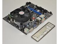 MSI G41M-S03/P25 LGA 775 MicroATX Motherboard bundle with cooler and cpu