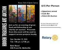 You are invited to the Hidden Treasures Art and Wine Auction!!!