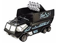 Silverlit Cannon Mission 2-Channel I/R Remote Control Truck with 8 Foam Missiles