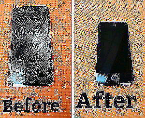 ON THE GO IPHONE CRACKED SCREEN REPAIR