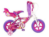 Sonic Daisy Girls Bike - Pink, 12 Inch with Stabilisers