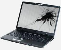 Laptop/Notebook LCD Screen Replacement (Lowest Price Guaranteed)