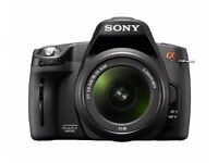 Sony Alpha A290L 14.2 MP Digital SLR Camera with 18-55mm Lens- used, in great condition.
