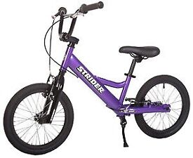 Strider Youth 16 Balance Bike, Age 6 to 10 Years