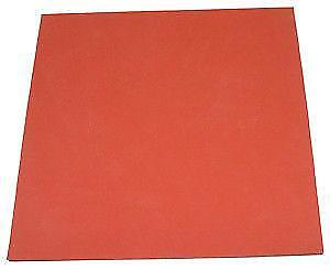 "New 15x15"" silicone rubber pad mat for t-shirt flat heat press"