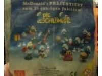 6 Schlümpfe von McDonalds Hessen - Groß-Bieberau Vorschau