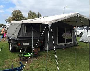 Deluxe On Road Camper Trailer Seaford Morphett Vale Area Preview