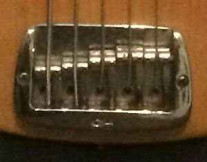 Wanted: G&L L1505 5 string bridge chrome