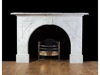 Antique Marble Fireplace Surround