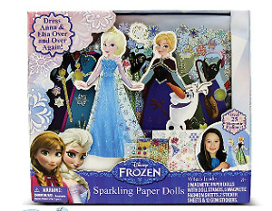 Frozen Elsa and Anna Magnetic Doll Dress Up - New in Box