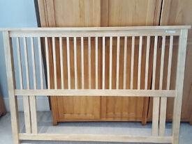 Bed headboard (oak)