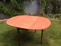 Authentic G Plan. 1964 Original. Retro, Vintage, Iconic. Gateleg, Dropleaf Dining Table and Chairs
