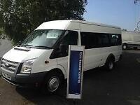 Ford Transit 17 seat bus