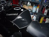 Tank cover used lockhart, fits various was on zx11