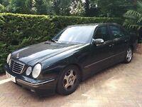 Mercedes E240 Advantgrade Automatic 4D saloon Petrol 2597cc - NO MOT No Tax