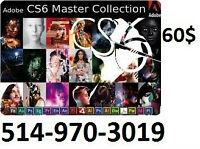ADOBE PHOTOSHOP MASTER COLLECTION CS6 // CC —PC--MAC
