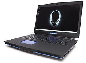 Alienware 17 Intel i7 4800MQ 2.7GHz 16GB GTX 780M 465SSD+698HDD