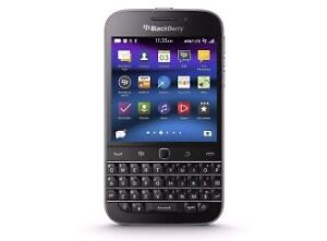 In mint condition unlocked BlackBerry Classic Q20