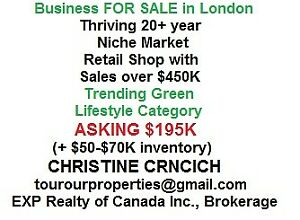 London Business FOR SALE