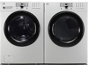KENMORE LG WASHER & ELECTRIC  STEAM DRYER SET MATCHING STACKABLE