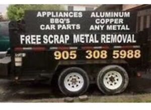Free scrap metal pickup. FREESCRAPMETALPICKUP.ca 905.308.5988