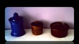 KITCHEN CROCKERY - 3 ITEMS - FOR SALE