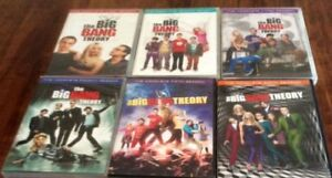 Big Bang Theory, Seasons 1-6, DVDS complete in cases